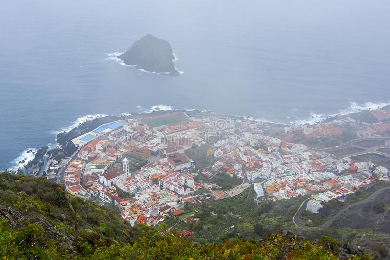 Garachico town, Tenerife, Canary islands, Spain royalty free stock photos