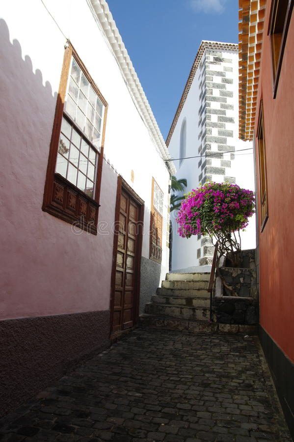 Garachico town, Tenerife island, canary islands, spain royalty free stock photography
