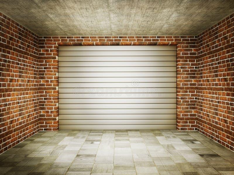Garage vector illustratie