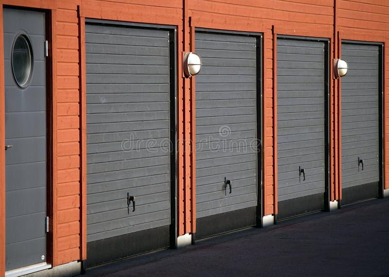 Garage fotografía de archivo libre de regalías