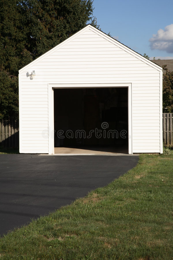 Garage stockfotografie
