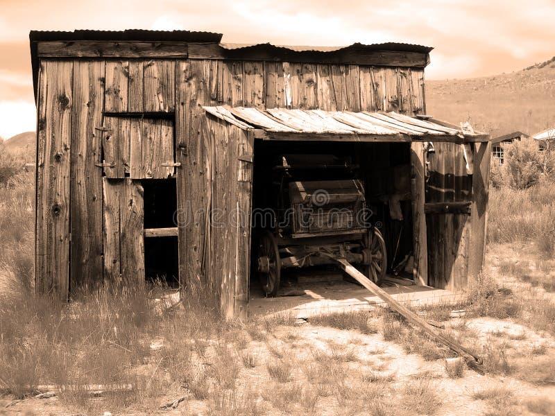 Garage foto de archivo