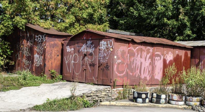 garage fotos de archivo