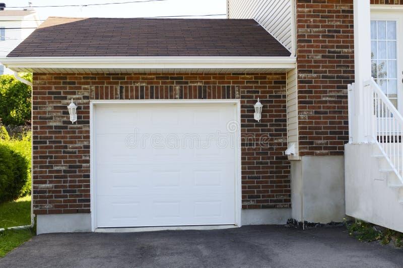 Garage royalty-vrije stock afbeelding