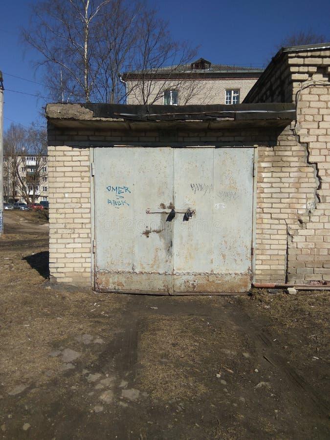 garage immagine stock