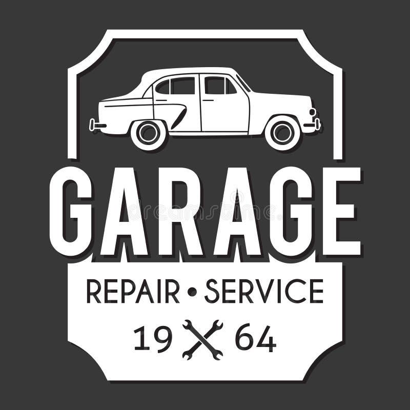 Garage Badge. Car Repair Logo Stock Vector - Illustration of club ...