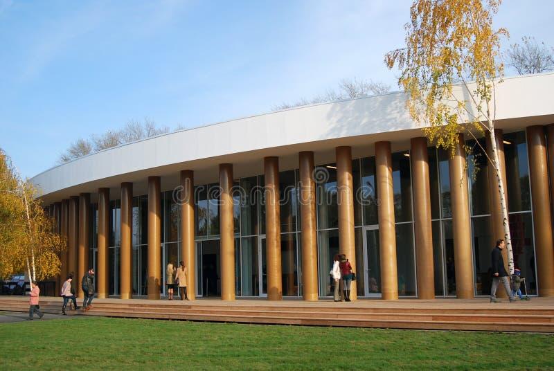 Download Garage Contemporary Culture Center New Building Editorial Stock Image - Image of facade, contemporary: 27252289