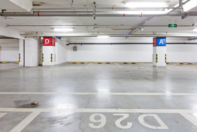 Garage de subterráneo fotos de archivo libres de regalías