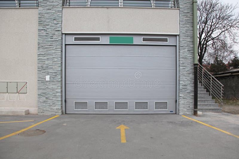 Garage dell'automobile immagine stock