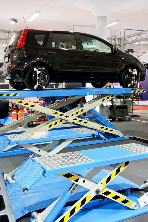 Garage dell'automobile fotografie stock libere da diritti