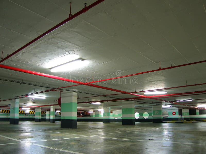 Garage di parcheggio immagini stock