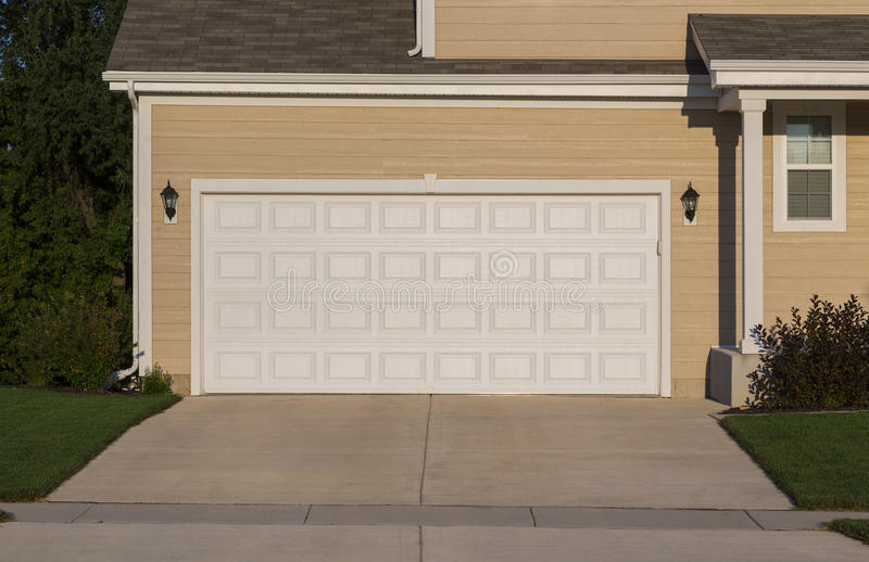 Garage door stock photo image of estate decor exterior for Garage door repair lawrenceville