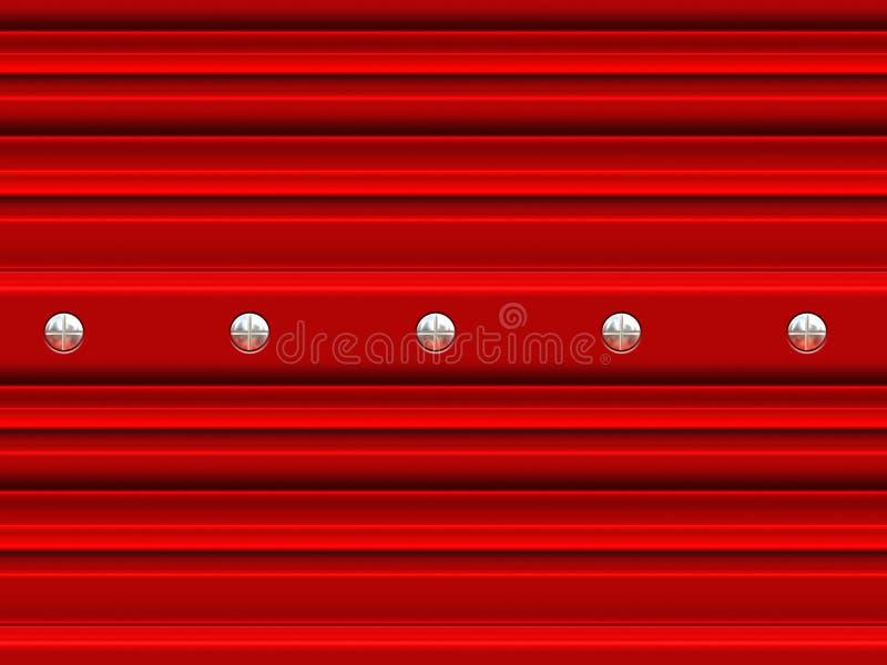 Download Garage door with screws stock illustration. Image of illustration - 19888300