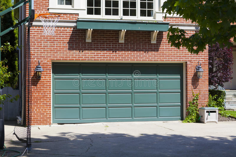 Garage moderno americano foto de archivo