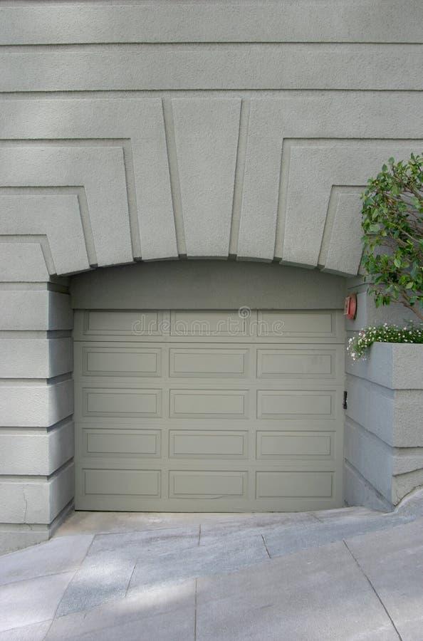 Garage operato 2 immagine stock