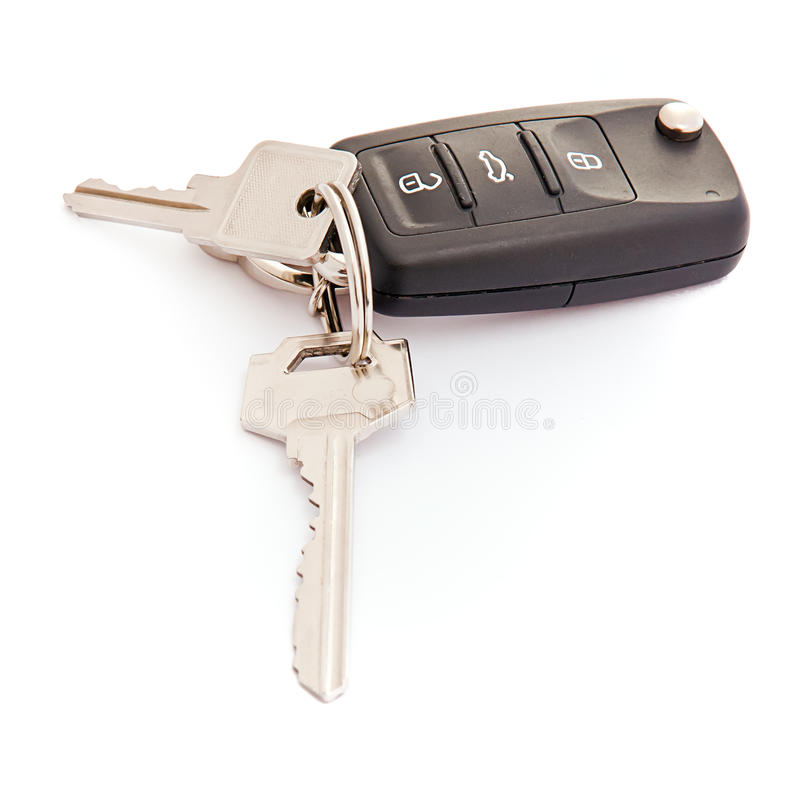 Garage remote control royalty free stock photos