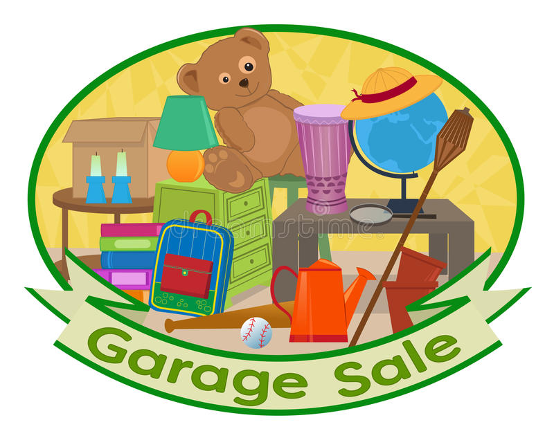 garage sale clipart stock vector illustration of sale 87401134 rh dreamstime com rummage sale clip art free garage sale clip art images