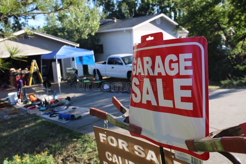 Garage sale. It& x27;s a pic of a garage sale stock photos