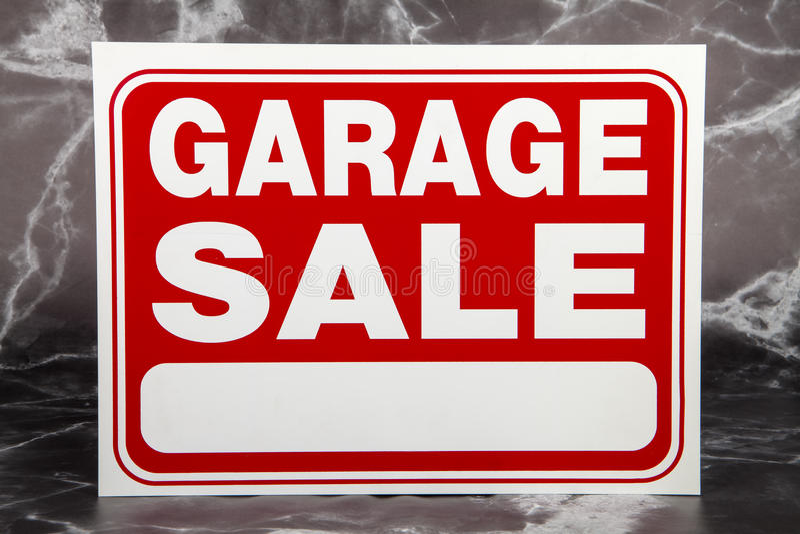 Garage Sale stock photo
