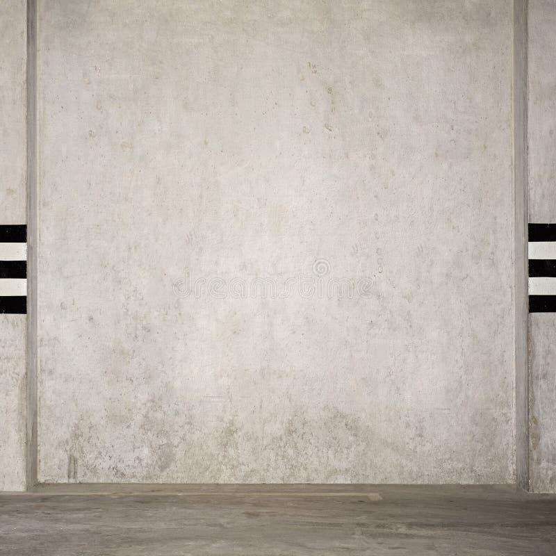 Garage vide au fond image libre de droits