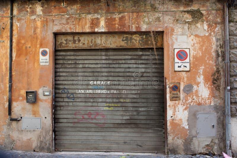 Garage viejo fotos de archivo libres de regalías