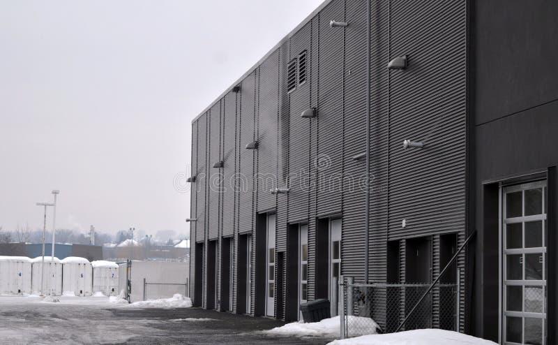 Garage and warehouse royalty free stock photo