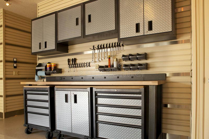 Download Garage workspace stock image. Image of electrical, mosern - 26641013