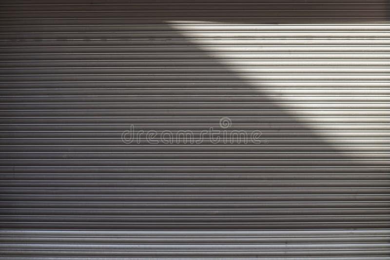 Garagedeur stock afbeelding