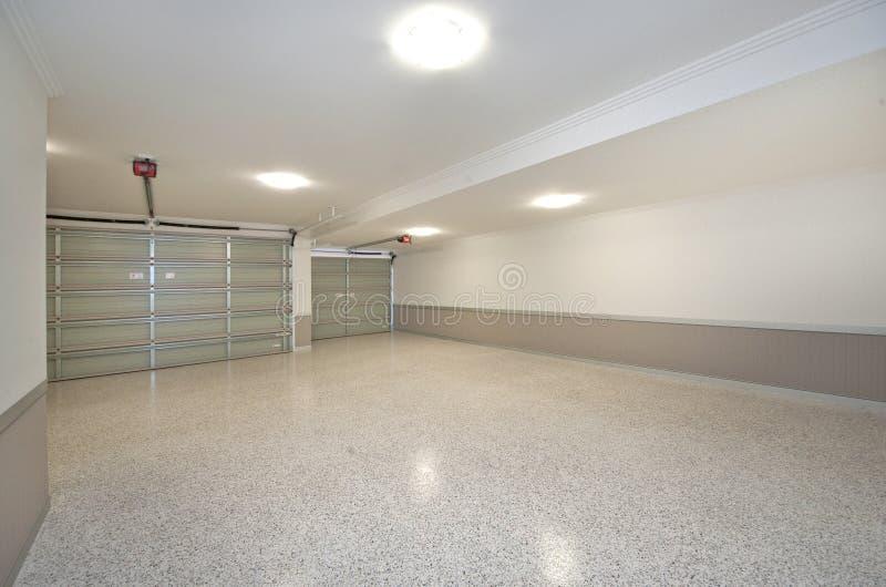Garagem imagem de stock
