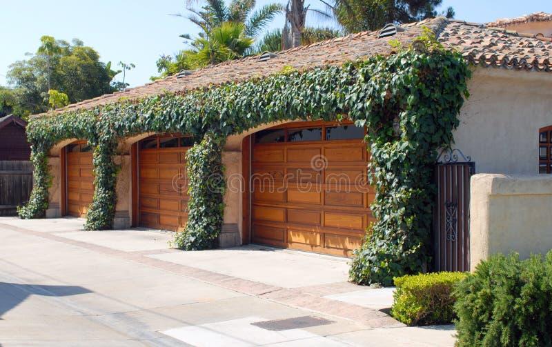 Garagem de CoronaDelMar imagens de stock