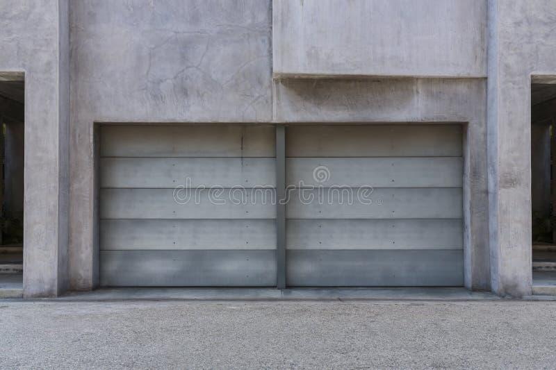 Garagem de dois carros imagem de stock royalty free