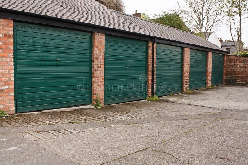 Garagens do armazenamento do auto imagem de stock royalty free