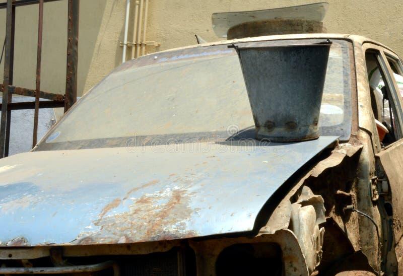 Garaje del coche imágenes de archivo libres de regalías