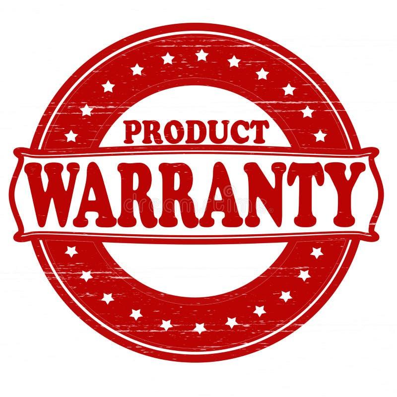 Garantia do produto ilustração do vetor
