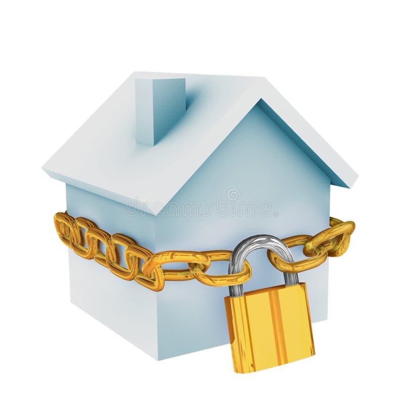 Garantie à la maison illustration stock