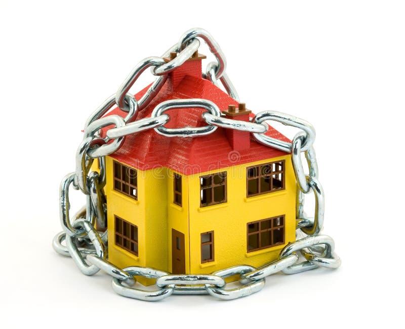 Garantie à la maison image stock