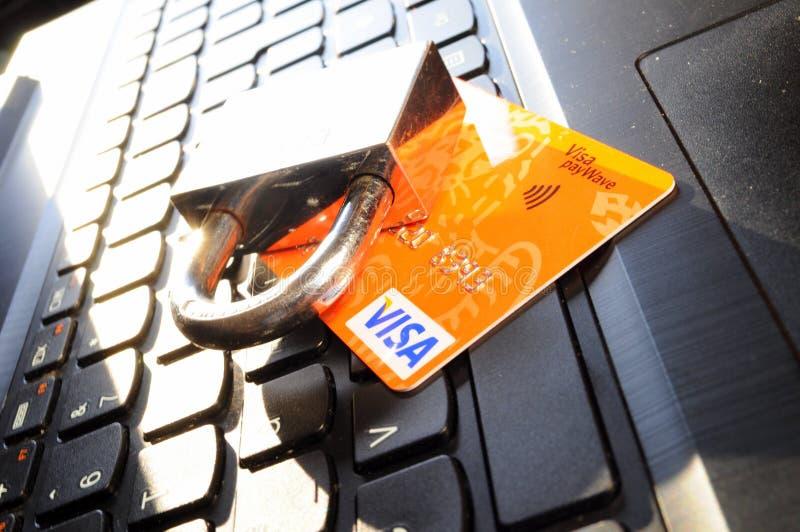 Garantie de carte de crédit photos libres de droits