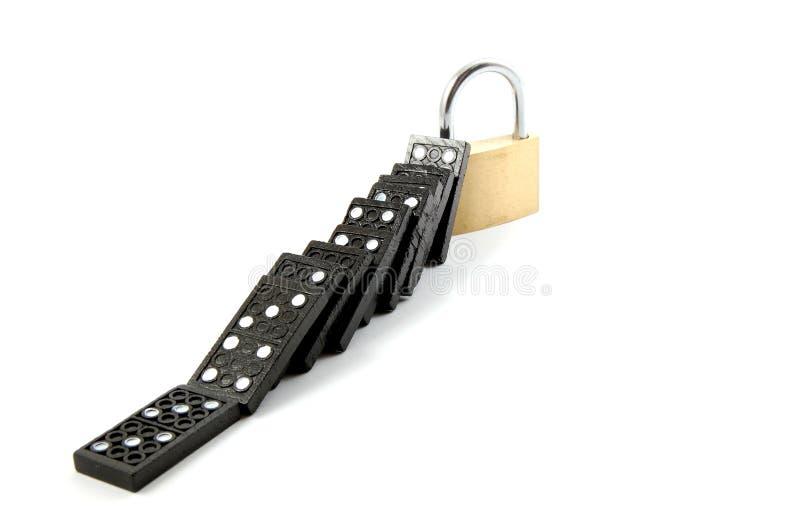 garantie de domino photos libres de droits