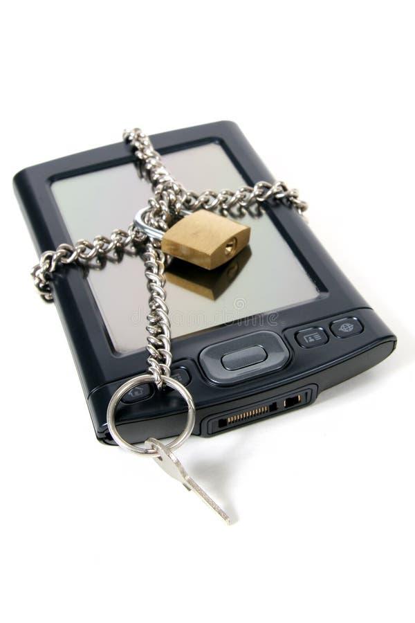 Garantie de l'information image libre de droits