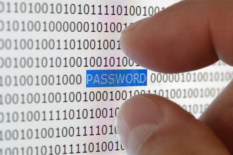 Garantie de mot de passe photos libres de droits