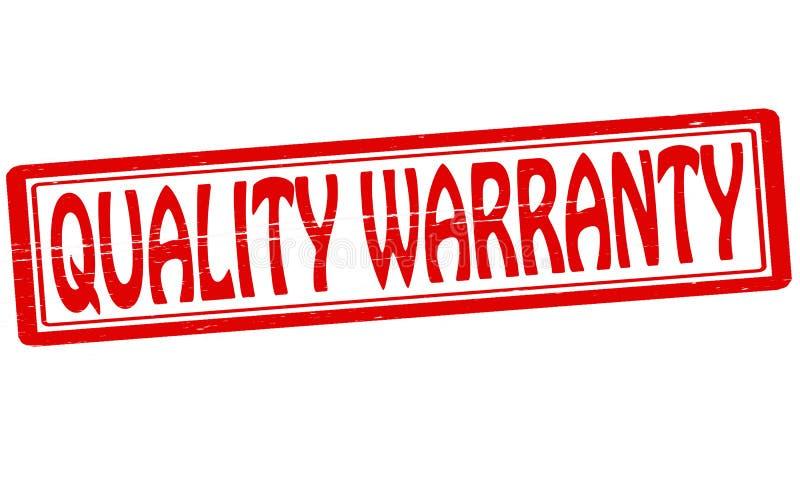 Garantie de qualité illustration libre de droits