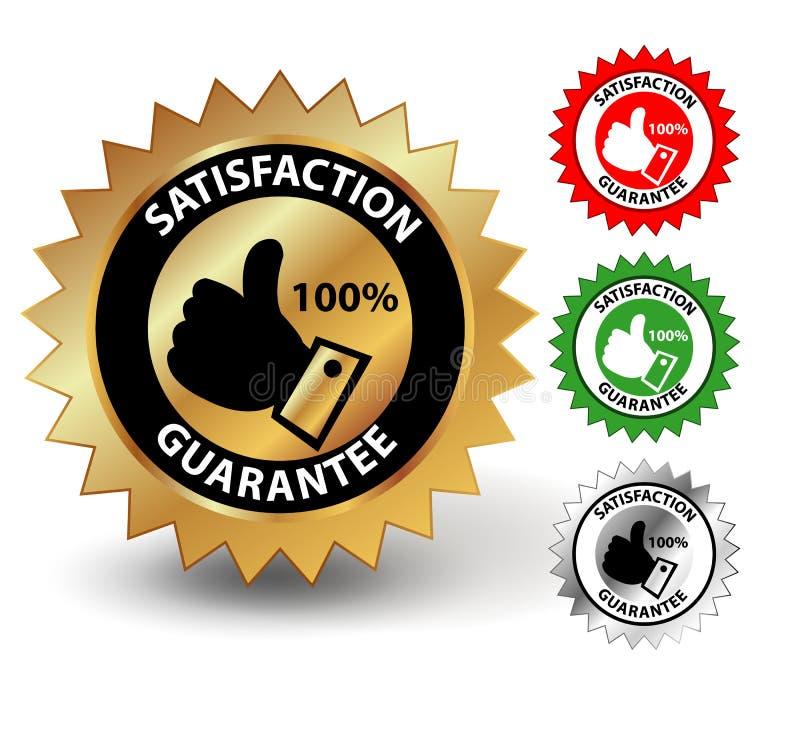 Garantie de satisfaction illustration libre de droits