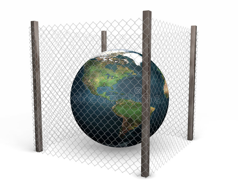 Garantie globale illustration stock