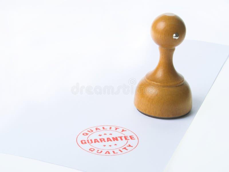 Garantie-Stempel lizenzfreie stockbilder