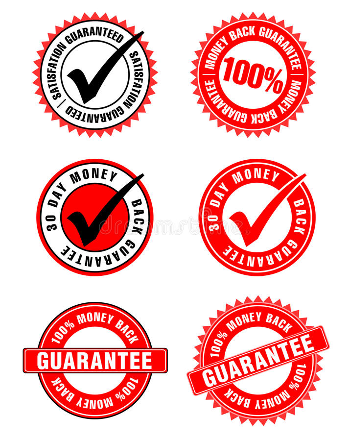 Garanties illustration libre de droits
