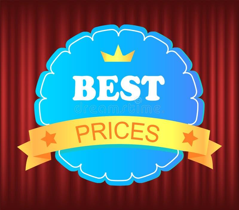 Garanzia Mark, Cheap and Sale, Business Vector royalty illustrazione gratis