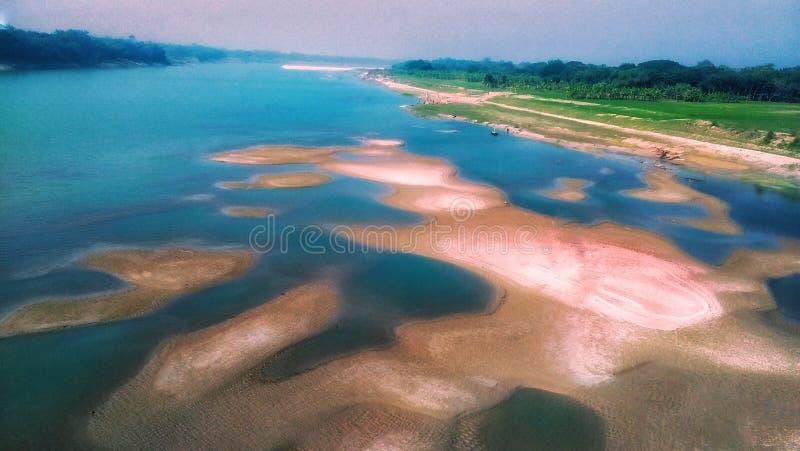 Garay-Fluss stockbilder