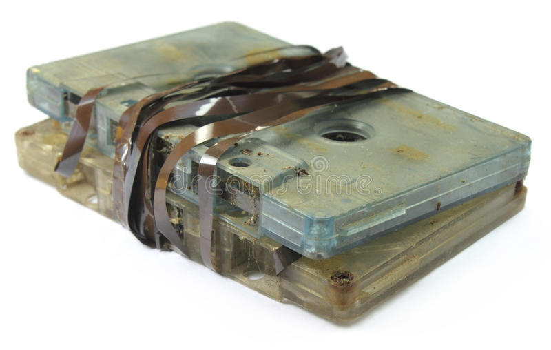 Download Garbage audio cassette stock photo. Image of audio, magnetic - 21996984