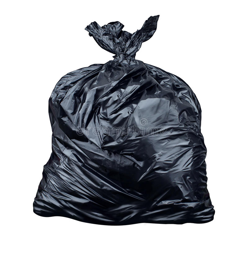 Free Garbage Bag Royalty Free Stock Image - 36128426