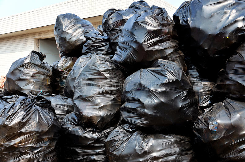 Download Garbage bags stock photo. Image of environment, bags - 23830224
